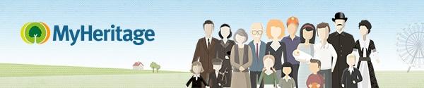 Logo de MyHeritage