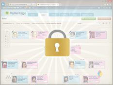 Configuraciones de privacidad detalladas
